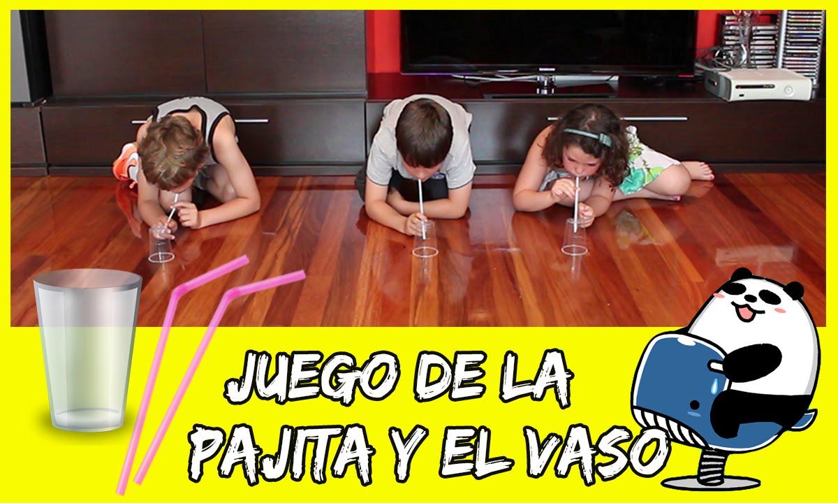 Juego Con Pajitas Y Vasos Juegos Caseros Para Ninos Youtube