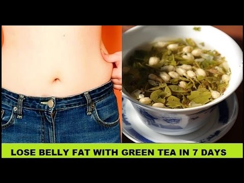Top 5 Ways to Lose Belly Fat with Green Tea in just 7 Days