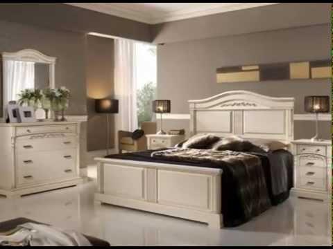 Dormitorios de matrimonio clasicos en madera youtube for Cuartos completos
