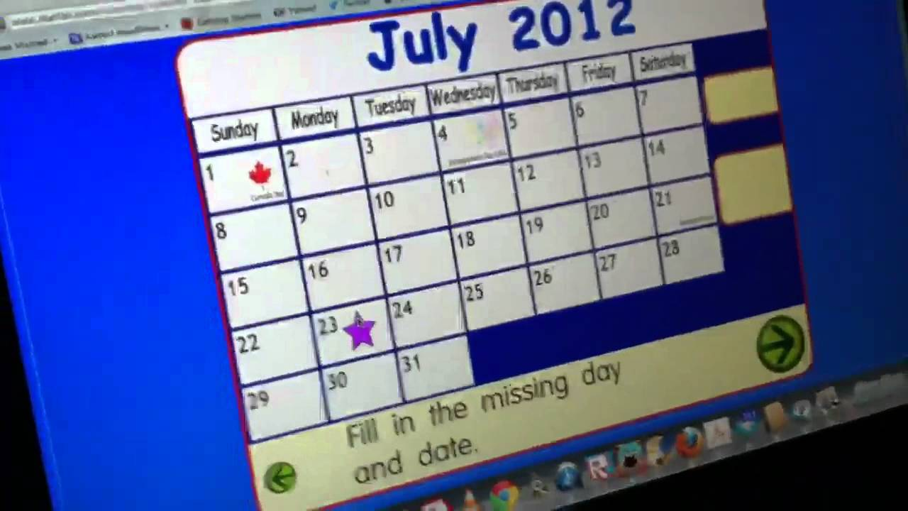Make A Calendar - YouTube