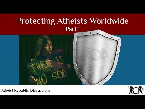 Protecting Atheists Worldwide 🛡️ Part 1