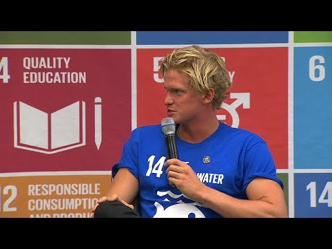 Cody Simpson - Youth advocate for the oceans