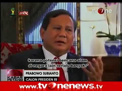Adu Bahasa Inggris Prabowo Vs Jokowi