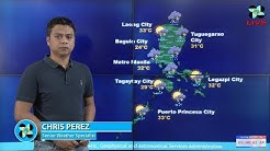 Public Weather Forecast Issued at 4:00 AM October 11, 2017