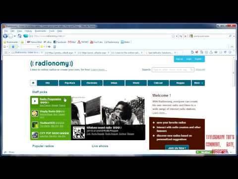 How to make your own  FREE 24/7 Web Radio Station (with Radionomy) - PART 1 (HD)