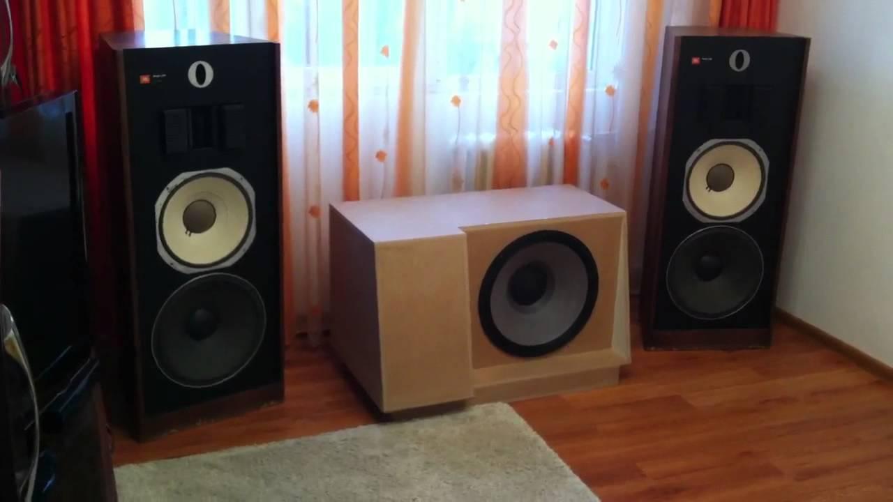 JBL L220 Amp JBL B460 Romania YouTube