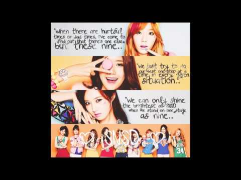 Into The New World (Ballad Ver.) SNSD Lyrics [ENG+ROM]