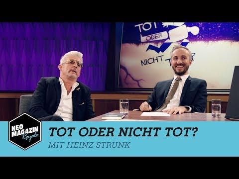 Tot oder nicht tot? mit Heinz Strunk    NEO MAGAZIN ROYALE mit Jan Böhmermann - ZDFneo