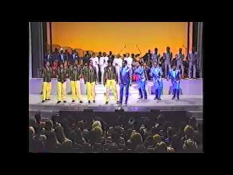 The Manhattans, Cadillacs, Drifters, Temptations & Four Tops - Battle of the Groups (@Apollo 1985)