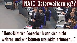 Nato Osterweiterung?? War da was?