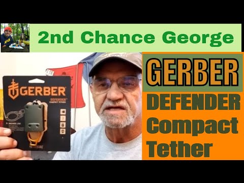 Gerber DEFENDER –  Fly and Ice Tether, (Compact) more than just a zinger