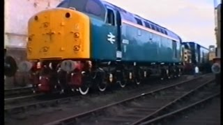 South Yorkshire Railway 27/4/96. LOCO TV UK ARCHIVE