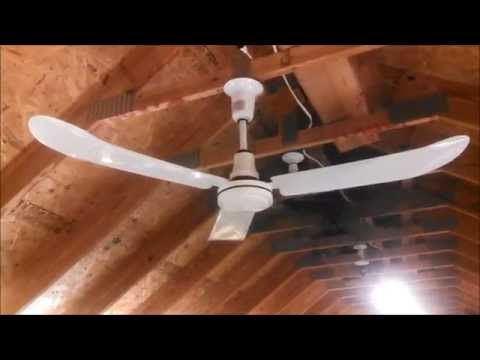 J&D Manufacturing CF60 Indoor/Outdoor Ceiling Fan (Agricultural/Commercial/Industrial) (FULL)