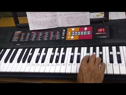 YAMAHA PSR  F 51 || HOW TO USE VOICE & STYLE   || Demo-3 in Hindi || Learn playing Keyboard
