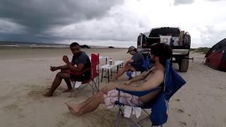 Tent Camping : Surfside Beach, TX (2017)