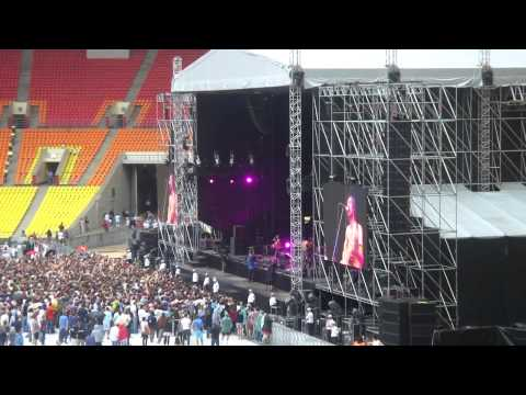 """Gogol Bordello """"Jam Jelem"""" Luzhniki (Лужники) Moscow 22.07.2012"""