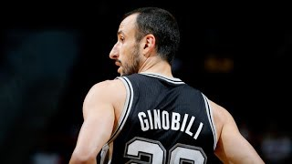 Manu Ginobili Career Highlights Mix! THANK YOU FOR EVERYTHING