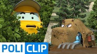 Watch your eyes! | Robocar Poli Clips