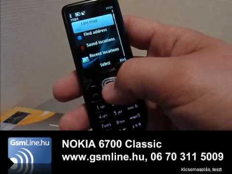 NOKIA 6700 Classic Előszőr Magyarországon | www.GsmLine.hu