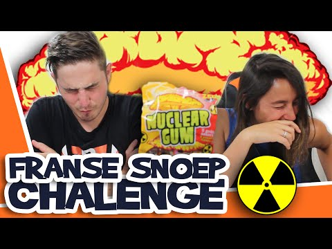 NUCLEAIRE KAUWGOM!! - Franse Snoep Challenge