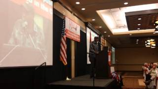 James T Harris speaks to RWOP