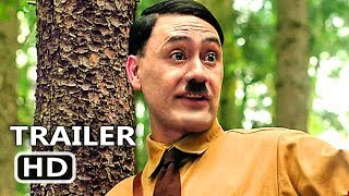 JOJO RABBIT Trailer (2019) Taika Waititi, Scarlett Johansson, Comedy Movie