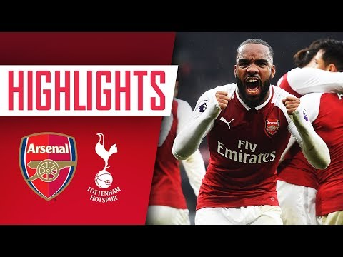 NORTH LONDON IS RED | Arsenal 2 - 0 Tottenham | Goals and highlights