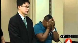 Killer breaks down at sentencing