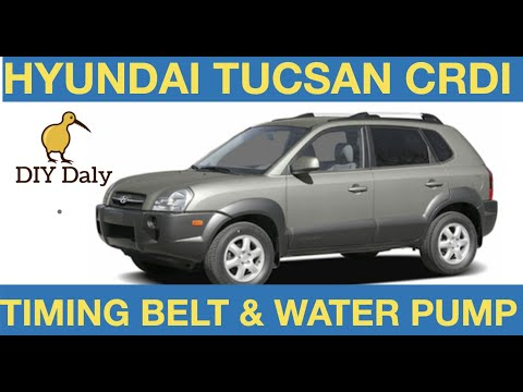 Hyundai Tucsan Timing Belt & Water Pump Replacement – How to Fit