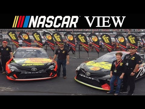 NASCAR View #99 Bass Pro Shops/5 Hour Energy to the 78 in 2018/77 Shuts Down