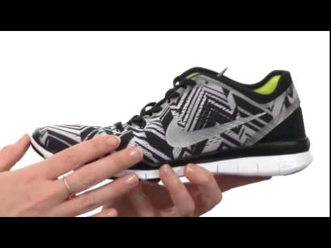 f5a17ed9159a Nike Free 5.0 TR Fit 5 PRT Black Volt White - Shoppersfeed.com Free  Shipping BOTH Ways - YouTube