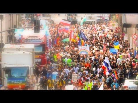 Anti-Government Demonstration Starts in Berlin!