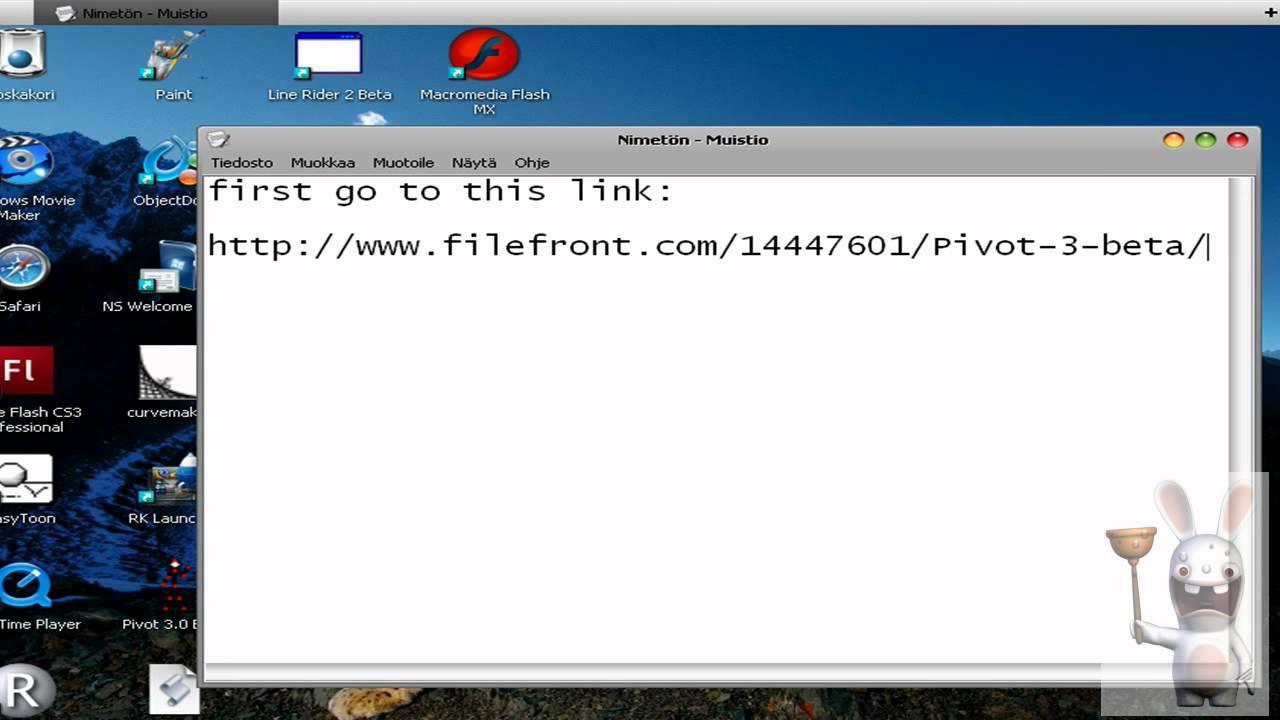 Pivot 3. 0 beta download.