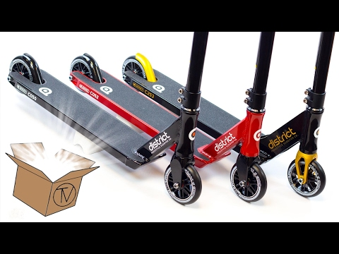 2017 District Completes - Unboxing and Overview │ The Vault Pro Scooters