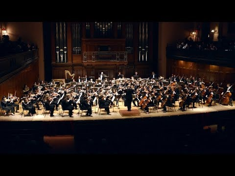 Oberlin Orchestra performs Igor Stravinsky's The Rite of Spring (1913)