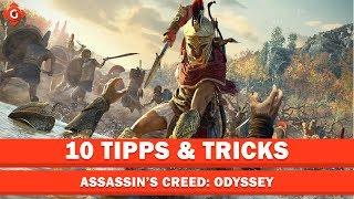 Zehn Tipps & Tricks zu Assassin's Creed: Odyssey | Top 10
