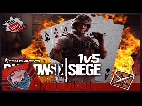 RAINBOW SIX SIEGE |ACE WITH LESION! BLOOD ORCHID - GAMEPLAY