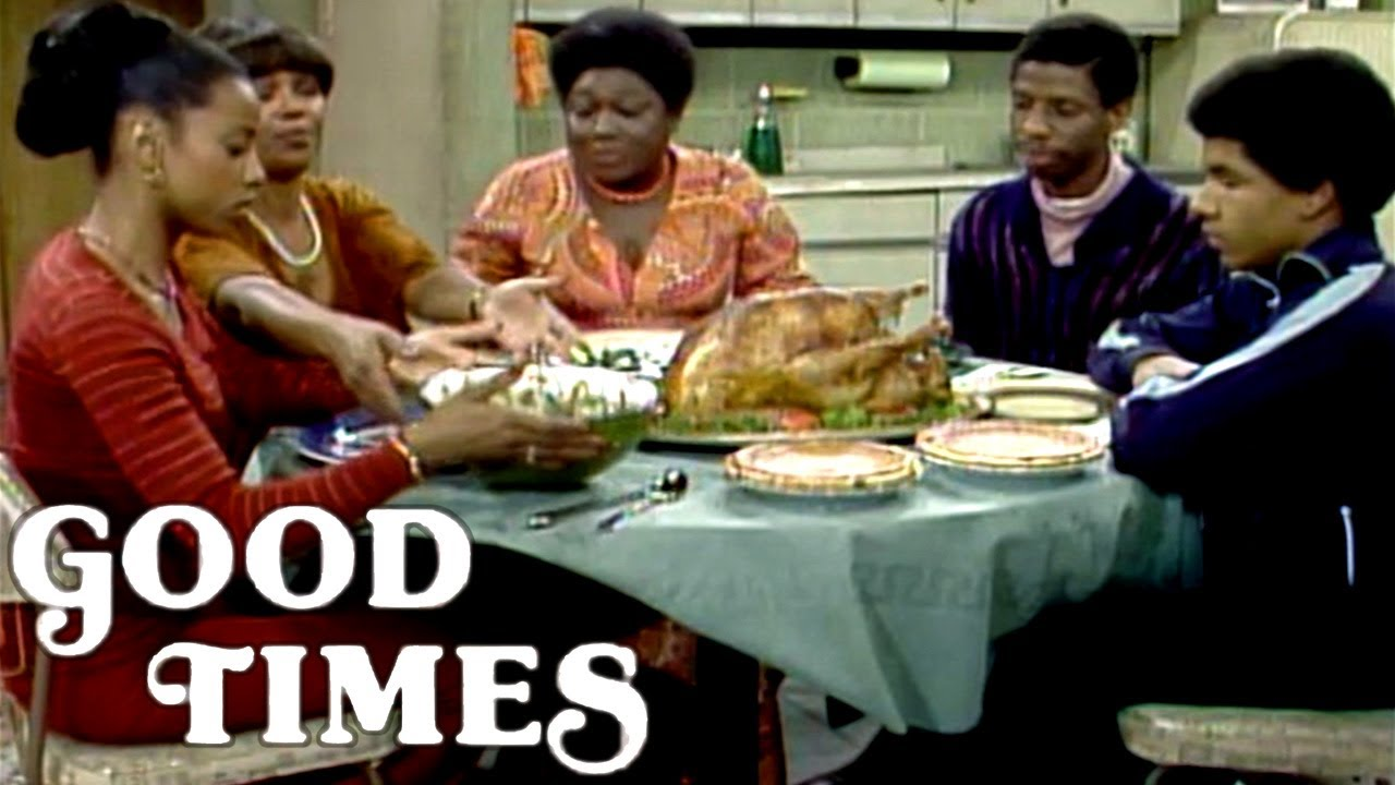 Thanksgiving Dinner With The Evans | Good Times