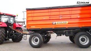 Innowacyjność ma kolor pomarańczowy! Przyczepa rolnicza ZASŁAW AGRO D737AA-12