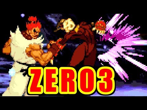 Gouki/Akuma Training - STREET FIGHTER ZERO3 for PS on PS3