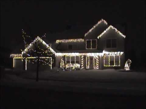 2010 o holy night christmas lights synchronized to music youtube - Christmas Lights Synchronized To Music