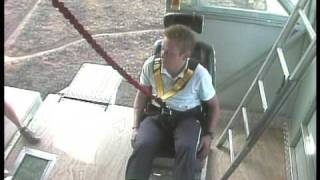 WARNING  Bungy jump of death, crazy scary, this will make you think twice about doing it