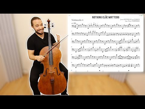 HOW TO PLAY Nothing Else Matters APOCALYPTICA on Cello Lesson Part 3 | Metal on Cello