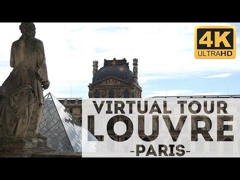 Louvre Museum Tour 4k