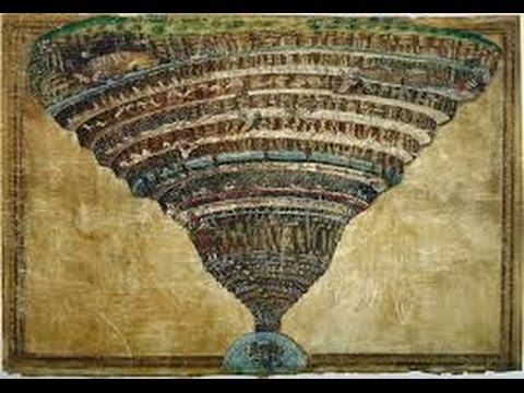 """Inner Earth Dante's 'Divine Comedy - """"All hope abandon, ye who enter in!"""" !!!"""