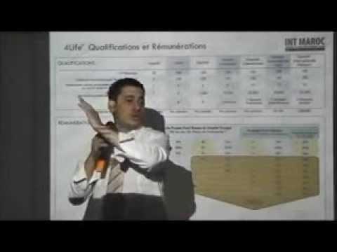 4life maroc VID N°6  arabe Plan de rémuneration et Qualifications