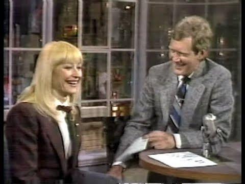 Raffaella Carrà on Letterman, March 10, 1986