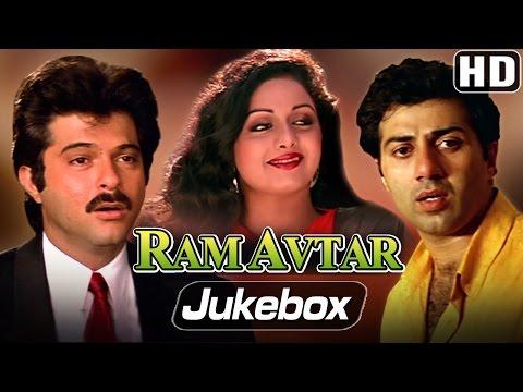 All Songs of Ram Avtar - Sunny Deol, Sri Devi, Anil Kapoor - LAXMIKANT PYARELAL