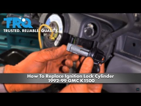 How To Replace Ignition Lock Cylinder 1992-99 GMC K1500