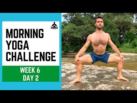 Morning Yoga Challenge Week 6 Day 2 - Man Flow Yoga